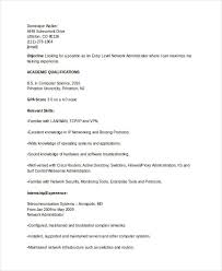 Entry Level It Resume Basic It Resume Templates 27 Free Word Pdf Documents Download