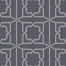 sketch twenty 3 trellis wallpaper in royal blue pv00235 from the