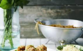 cuisine végé boulettes végé sauce tomate et spaghettis cuisine et recettes