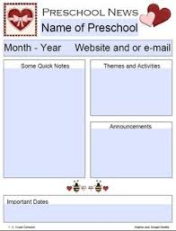 the 25 best preschool newsletter ideas on pinterest newsletter