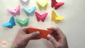 Diy Craft Diy Crafts Paper Butterflies Very Easy Innova Crafts Youtube