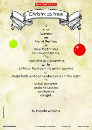 kids poems christmas celebrate christmas with this lovely shape