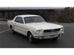 Black Classic Mustang 1964 Ford Mustang For Sale On Classiccars Com 18 Available