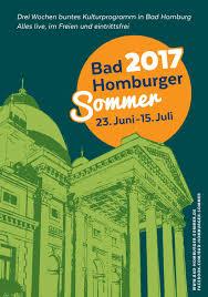 Vhs Bad Homburg Bad Homburger Sommer 2017 By Bad Homburg Tourismus Issuu