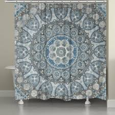 Teal Ruffle Shower Curtain by Curtains Gypsy Shower Curtain White Ruffled Shower Curtain