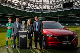mazda official site mazda drives together with the guinness pro12 final series