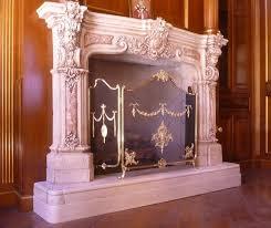 fireplace folding screens