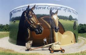 Horse Murals by Home