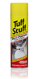 Water Based Upholstery Cleaner Multi Purpose Foam Cleaner Tuff Stuff