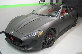 maserati brunei maserati car wrap with red accents wrapped by first class
