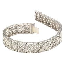 bracelet with diamonds images Lacloche freres art deco diamond platinum bracelet for sale at 1stdibs jpg