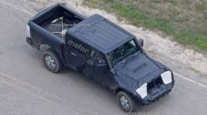 Jeep Spy Shots Aerial Spy Shots Of The All New Jeep Jt Wrangler Pickup Truck