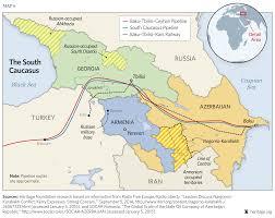 Caspian Sea World Map by South Caucasus Maps Eurasian Geopolitics