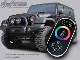led lights for jeep wrangler oracle complete head light kit with halo led light ring for 07 up