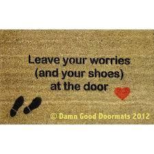 Hawaiian Doormats Nice Way Of Telling People To Take Off Their Shoes It U0027s Just