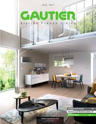 gautier catalogue 2016 2017 dining living and bedrooms