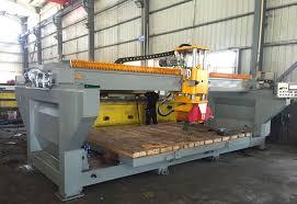 bridge saws new and used stone fabrication machinery