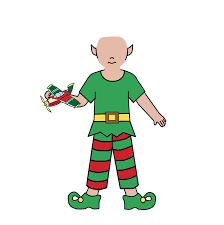 kids christmas party invitation boy elf u2013 mandys moon