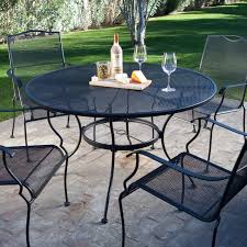 Patio Dining Sets For 4 by Belham Living Stanton Wrought Iron Dining Set By Woodard Seats 4