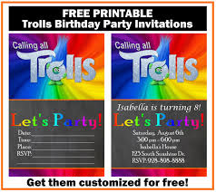 printable party invitations free trolls birthday party invitation printables printables 4
