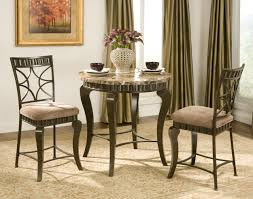 marble top bar table buy hamlyn marble top bar table set by steve silver from www