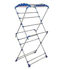 Cloth Dryer Buy Brancley Stainless Steel Blue Clothes Drying Stand Online