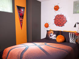 decoration de chambre basketball visuel 2