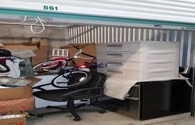 abandoned storage units auctions bike washer boxes fridge