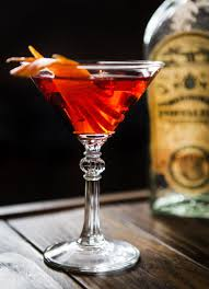 martini sweet spirit bitter sweet u003d negroni you can make it many ways the