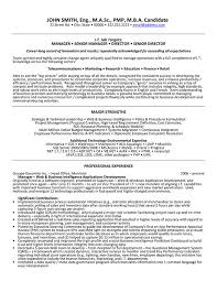 9 best images of senior management resume samples executive