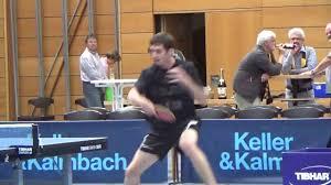 Bad Hamm Warm Up Damien Eloi Hermann Muehlbach Ttc Bad Hamm Tischtennis 2