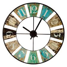 distressed wood cut out wall clock hobby lobby 1290618