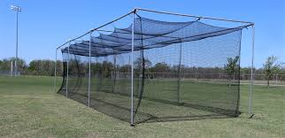 cimarron 55 u0027 standalone batting cage net and frame packages