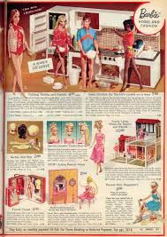 gold country girls barbies from christmas catalogs