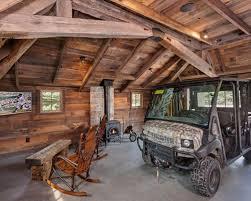 one car garage workshop top 20 rustic one car garage workshop ideas photos houzz