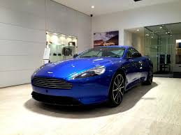 aston martin showroom our latest showroom addition at aston martin chichester the db9