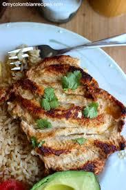 cuisine plancha pollo a la plancha style grilled chicken breast my