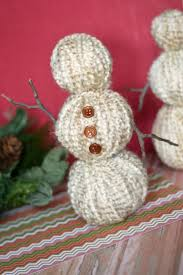 yarn wrapped snowmen frugal mom eh