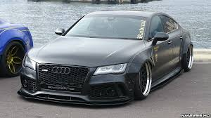 audi a7 kit audi a7 3 0 tdi widebody with loud exhaust mods