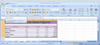 creating charts in a document and linking data from excel office