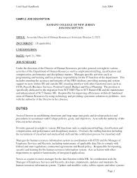 example of job resume hr job resume human resources assistant resume hr example sample hr job description for resume how to make a resume using adobe