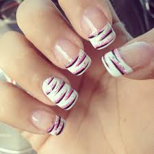 french tip nails nail french nail nail and pretty nails