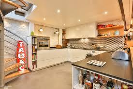cuisine ouverte sur s駛our cuisine intã gration faã on loft idf lusiarte cã tã maison pas cher