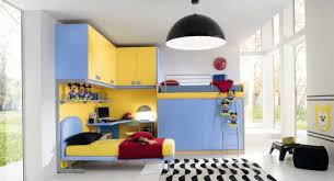 Mickey Mouse Room Decorations 37 Joyful Kids Room Design Ideas With Blue U0026 Yellow Tones