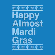 blue mardi gras happy almost mardi gras sleeve blue coast press