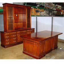 Mahogany Desk Accessories Dallas Office Furniture Traditional Used Desk Set Office