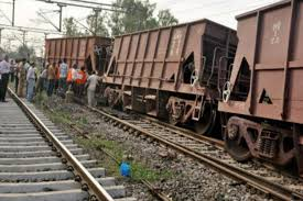 16 wagons of goods train derail in bihar the financial express