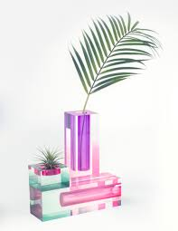 Lucite Vases These Colorful Vases Are The Latest Sign That Acrylic Is On The