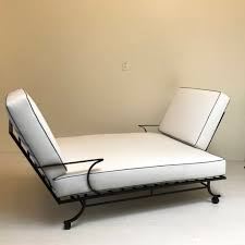Tete A Tete Garden Furniture by Bob Anderson Style Tete A Tete Double Chaise Lounge Mid Century