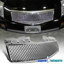 cadillac cts v grill 03 07 cadillac cts chrome mesh grille emblem mount wreath